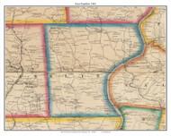 East Franklin, Pennsylvania 1861 Old Town Map Custom Print - Armstrong Co.