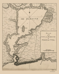 Santiago Bay 1768 Jefferys - Cuba Cities