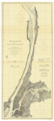 Hudson River - New York to Haverstraw 1963 - Old Map Nautical Chart AC Harbors 370 - New York
