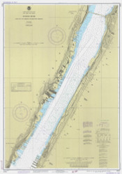 Hudson River - Days Point to George Washington Bridge 1982 - Old Map Nautical Chart AC Harbors 746 - New York