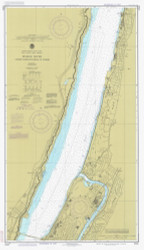 Hudson River - George Washington Bridge to Yonkers 1983 - Old Map Nautical Chart AC Harbors 747 - New York