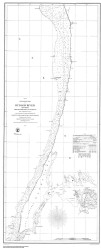 Hudson River - New York to Haverstraw 1855 - Old Map Nautical Chart AC Harbors 370 - New York