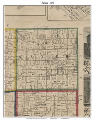 Salem, Michigan 1856 Old Town Map Custom Print - Washtenaw Co.