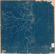 Alexandria 1904 - Showing Rural Free Delivery Routes 1-2 & 3 - Old Map Reprint - Virginia Cities