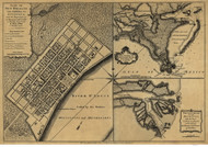 New Orleans LC 1759 - Old Map Reprint - Louisiana Cities