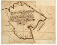 Annapolis 1690 - Ridgely - Old Map Reprint Maryland Cities