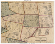 Enosburg and Enviroms, Vermont 1857 Old Town Map Custom Print - Franklin Co.