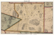 Fairfield, Vermont 1857 Old Town Map Custom Print - Franklin Co.