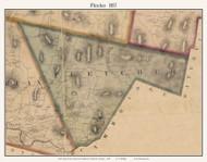 Fletcher, Vermont 1857 Old Town Map Custom Print - Franklin Co.