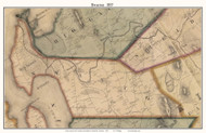 Swanton, Vermont 1857 Old Town Map Custom Print - Franklin Co.