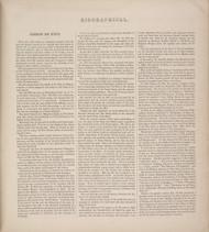 Biographical - Simeon De Witt 15, New York 1866 - Old Town Map Reprint - Tompkins Co. Atlas