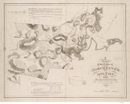 Dorchester and Milton 1831 - Old Map  Norfolk County - Massachusetts Cities Other