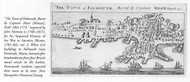 Portland 1775 Norman - Old Map Reprint - Maine Cities Other