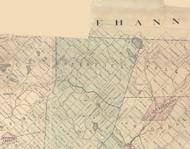 Greenfield (partial) Township, Pennsylvania 1879 Old Town Map Custom Print - Lackawanna Co.