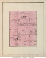 Canarsie Village - Flatlands, New York 1873 Old Town Map Reprint - Kings Co. (LI)