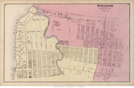 Ravenswood - Long Island City, New York 1873 Old Town Map Reprint - Queens Co. (Suffolk Atlas)