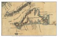 Martha's Vineyard 1775 Blaskowitz - Old Map Custom Print