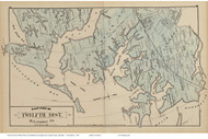 Twelfth District East - Chases Station, Millers Island, Maryland Baltimore Co. 1878 Old Map Reprint - Anne Arundel County Atlas