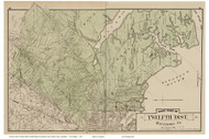Twelfth District West - Gardenville, Rossville, Bear Creek, Maryland Baltimore Co. 1878 Old Map Reprint - Anne Arundel County Atlas