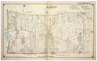 Brookhaven Town (part of) including Farmingville, New York 1917 Old Map Reprint - Suffolk Co. North Vol. 1