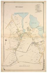 Setauket - Brookhaven, New York 1917 Old Map Reprint - Suffolk Co. North Vol. 1