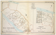 Shoreham and Belle Terre Estates - Brookhaven, New York 1917 Old Map Reprint - Suffolk Co. North Vol. 1