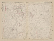 Part of Huntington, New York 1909 - Old Town Map Reprint - Suffolk Co. Atlas North Vol. 2 Page 2