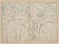 Part of Brookhaven, New York 1909 - Old Town Map Reprint - Suffolk Co. Atlas North Vol. 2 Page 4