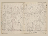 Part of Brookhaven, New York 1909 - Old Town Map Reprint - Suffolk Co. Atlas North Vol. 2 Page 5