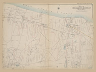 Part of Brookhaven and Riverhead, New York 1909 - Old Town Map Reprint - Suffolk Co. Atlas North Vol. 2 Page 6