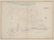 Part of Riverhead, New York 1909 - Old Town Map Reprint - Suffolk Co. Atlas North Vol. 2 Page 8