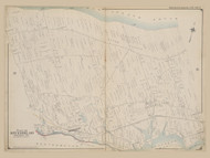 Part of Riverhead, New York 1909 - Old Town Map Reprint - Suffolk Co. Atlas North Vol. 2 Page 9