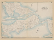 Part of Southold, New York 1909 - Old Town Map Reprint - Suffolk Co. Atlas North Vol. 2 Page 12