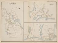 Mattituck, Orient, New Suffolk, New York 1909 - Old Town Map Reprint - Suffolk Co. Atlas North Vol. 2 Page 27
