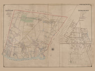 Town of Babylon and Lindenhust Village, New York 1902 - Old Town Map Reprint - Suffolk Co. Atlas South Vol. 1 Page 1