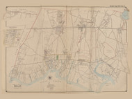 Part of The Town of Islip and Brentwood Village, New York 1902 - Old Town Map Reprint - Suffolk Co. Atlas South Vol. 1 Page 2