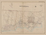 Part of the Towns of Islip and Brookhaven, New York 1902 - Old Town Map Reprint - Suffolk Co. Atlas South Vol. 1 Page 3