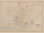 Part of the Town of Brookhaven, New York 1902 - Old Town Map Reprint - Suffolk Co. Atlas South Vol. 1 Page 4