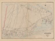 Part of the Town of Southampton, New York 1902 - Old Town Map Reprint - Suffolk Co. Atlas South Vol. 1 Page 5