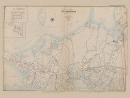 Part of the Town of Southampton, New York 1902 - Old Town Map Reprint - Suffolk Co. Atlas South Vol. 1 Page 6