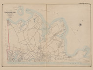 Part of the Town of Easthampton, New York 1902 - Old Town Map Reprint - Suffolk Co. Atlas South Vol. 1 Page 7