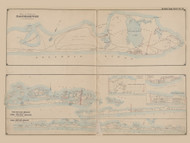 Part of the Town of Easthampton, Oak Island Beach, and part of Fire Island Beach, New York 1902 - Old Town Map Reprint - Suffolk Co. Atlas South Vol. 1 Page 8