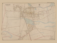Babylon, New York 1902 - Old Town Map Reprint - Suffolk Co. Atlas South Vol. 1 Page 10