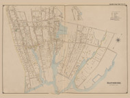 Bayshore, New York 1902 - Old Town Map Reprint - Suffolk Co. Atlas South Vol. 1 Page 11