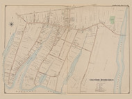 Centre Moriches, New York 1902 - Old Town Map Reprint - Suffolk Co. Atlas South Vol. 1 Page 19