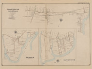 Quiogue, East Quogue, Part of Good Ground and Canoe Place, New York 1902 - Old Town Map Reprint - Suffolk Co. Atlas South Vol. 1 Page 22