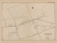 Amagansett, New York 1902 - Old Town Map Reprint - Suffolk Co. Atlas South Vol. 1 Page 28