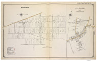 Bohemia and East Moriches - Islip-Brookhaven, New York 1915 Old Map Reprint - Suffolk Co. Atlas South Vol. 1