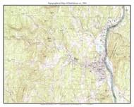 Brattleboro 1984 - Custom USGS Old Topo Map - Vermont