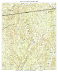 Grafton 1984 - Custom USGS Old Topo Map - Vermont